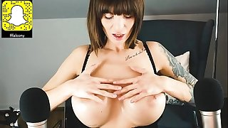 ASMRamy   Solo, ASMR, Dirty Talking, Oil, Big Boobs