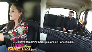 Female Fake Taxi Stud gets balls deep in super-sexy drivers wet tight pussy