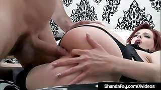 Nasty HouseWife Shanda Fay Stuffs Pictures & Gets Anal Fucked!
