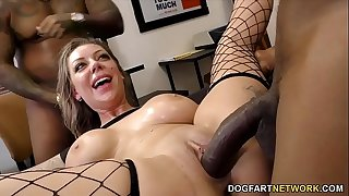 Tattoo Artist Karma Rx Gets Pounded Hard By Black Customers