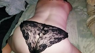 Sexy BBW in soaking wet panties