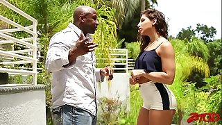 Abella Danger Has Needs, She Needs To Have Princes Big Black Dick Right Fucking Now